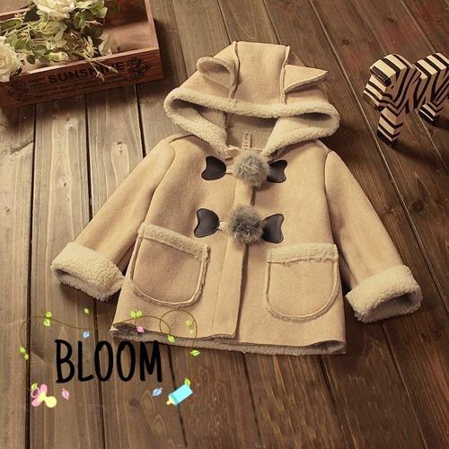 ab3a7645a Abrigo para bebé niña. 100% algodón. Bloom  Tienda online de ropa de ...